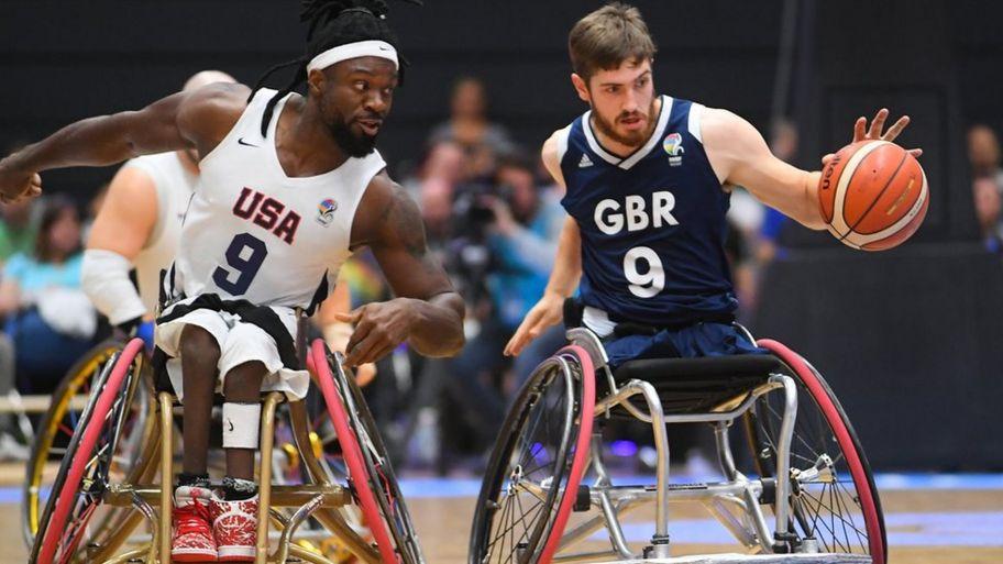 Great Britain men win Wheelchair Basketball