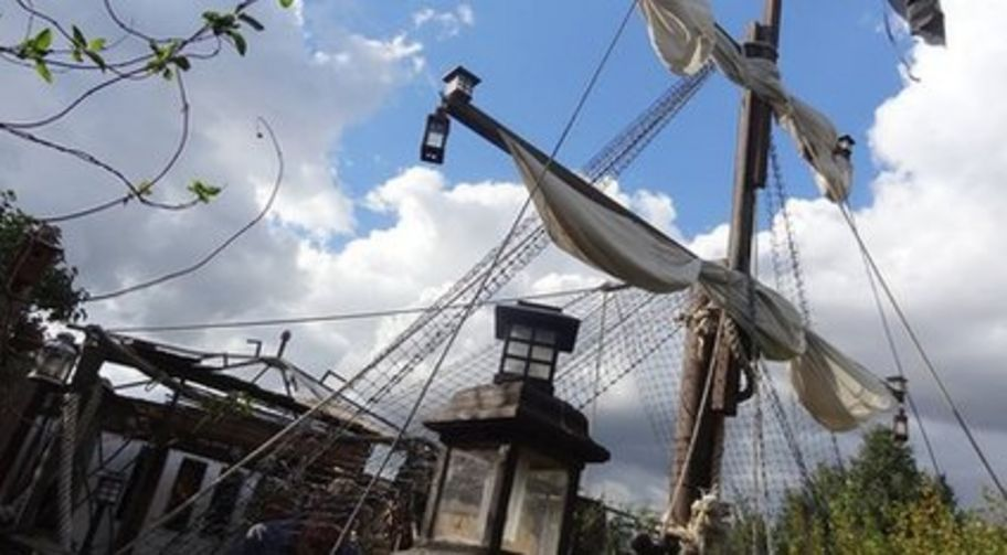 Tim Jonesu0027 Pirate Ship In Felixstowe