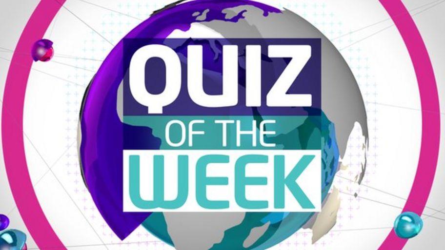 Try Newsround's quiz of the week - CBBC Newsround