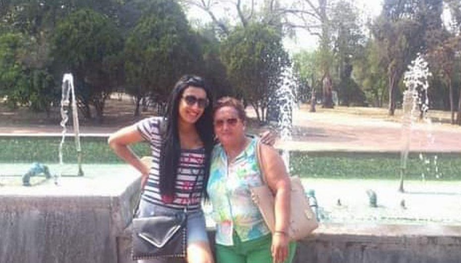 Cecilia Flores with her daughter Alessa, who was killed in 2016