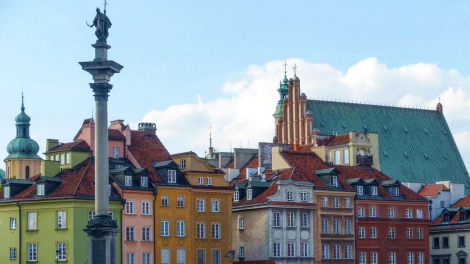 По словам Беаты Хомантовской, Варшава - это город, который все время меняется