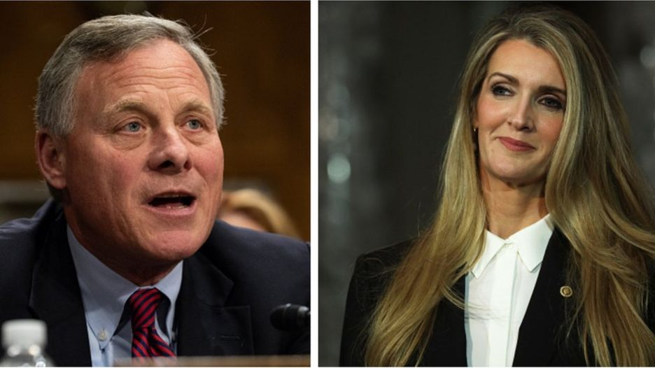 Richard Burr và Kelly Loeffler