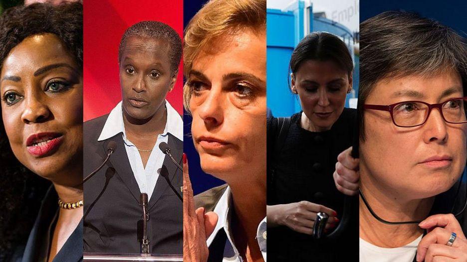 Fatma Samba Diouf Samoura, Lydia Nsekera, Florence Hardouin, Marina Granovskaia y Moya Dodd