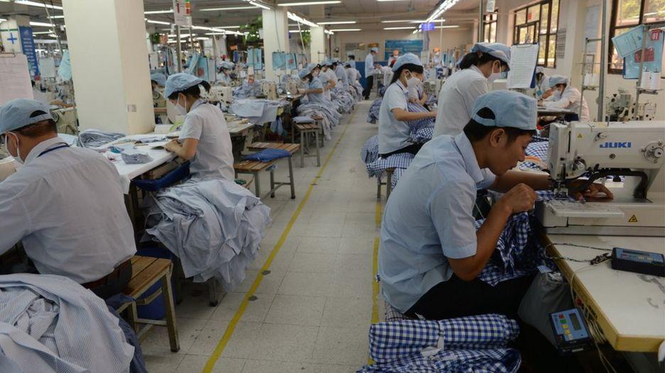 Vietnamese workers