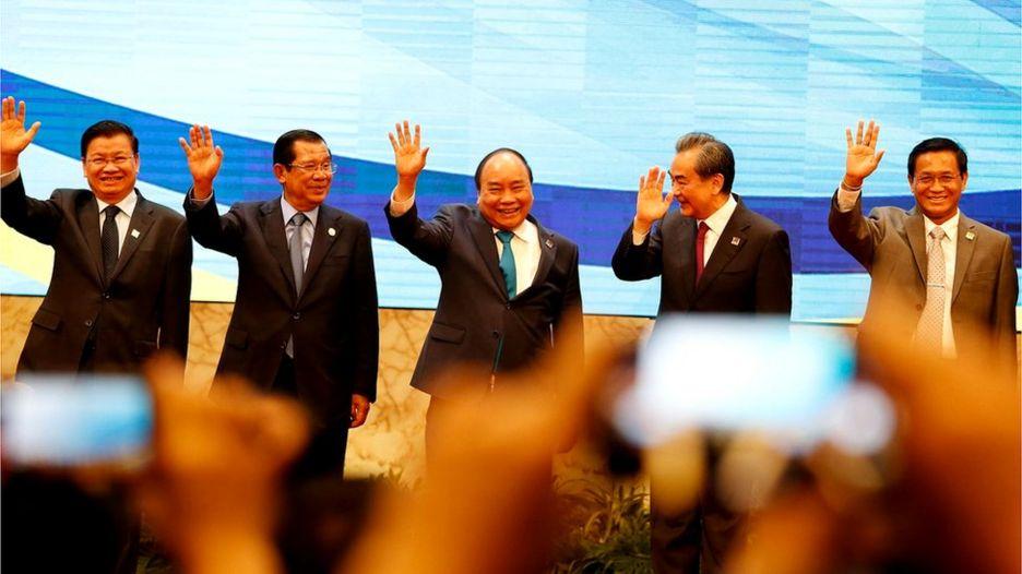Hợp tác giữa các quốc gia ở khu vực Mekong - Lan Thương