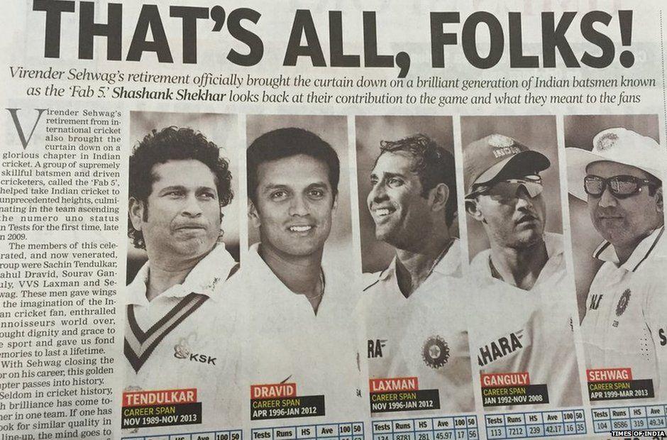 The 'Fab 5' share 53,788 international runs between them