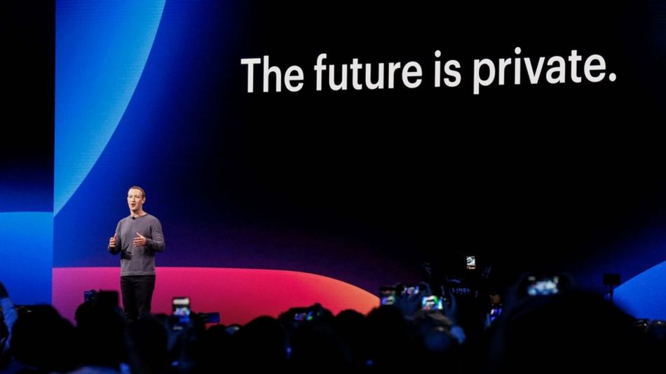 Mark Zuckerberg, speaking at his firm's developers' conference, earlier this week