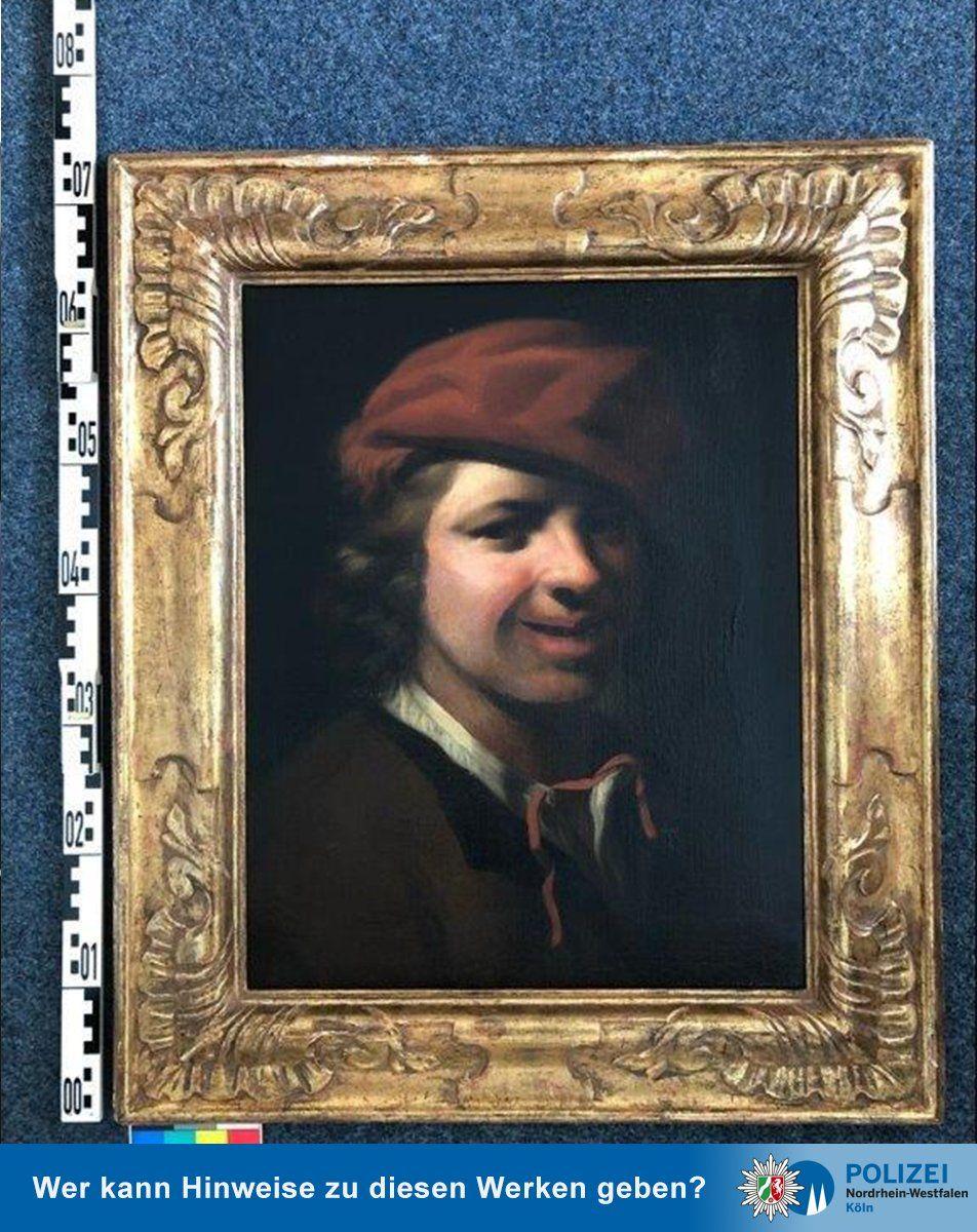 Një imazh që tregon pikturën nga Samuel van Hoogstraten