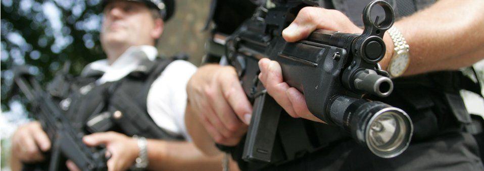 Met armed officers