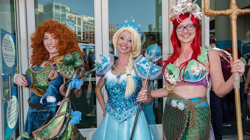 Mera-from-brave-Elsa-from-frozen-ariel-from-little-mermaid.
