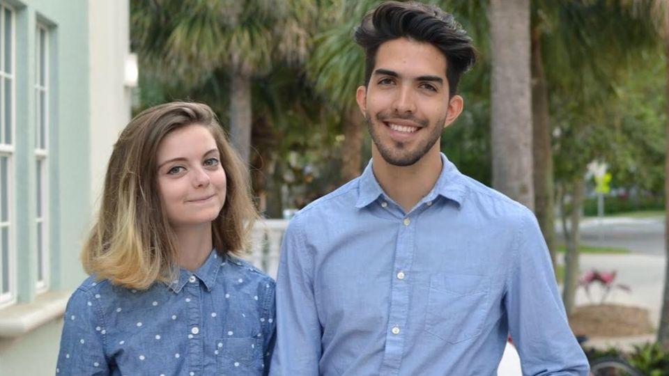 La estadounidense Beth Davis y el mexicano Esteban Bravo