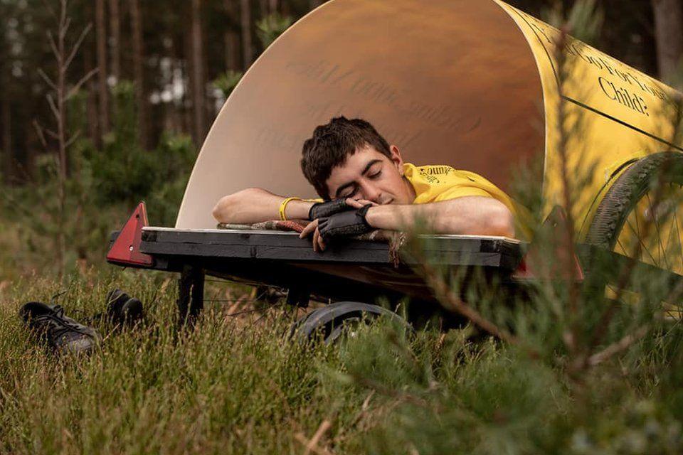 Josh Garman's camper