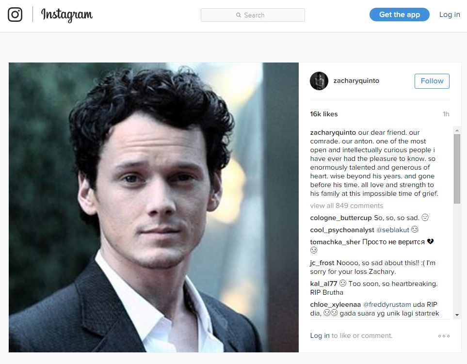 zacharyquinto post on Instagram