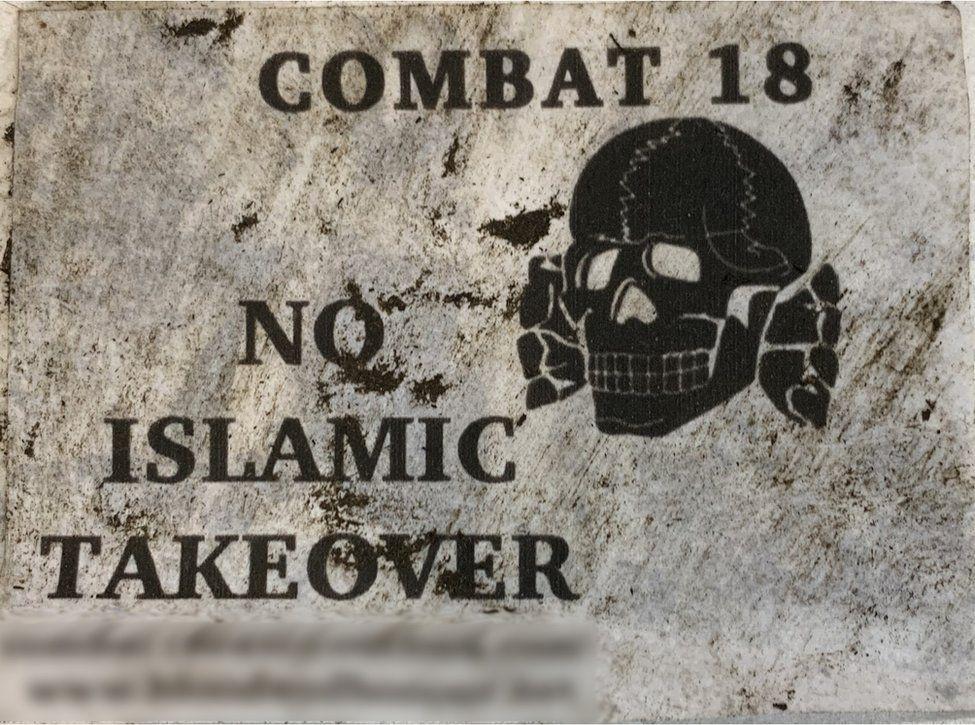 Combat 18 flyer
