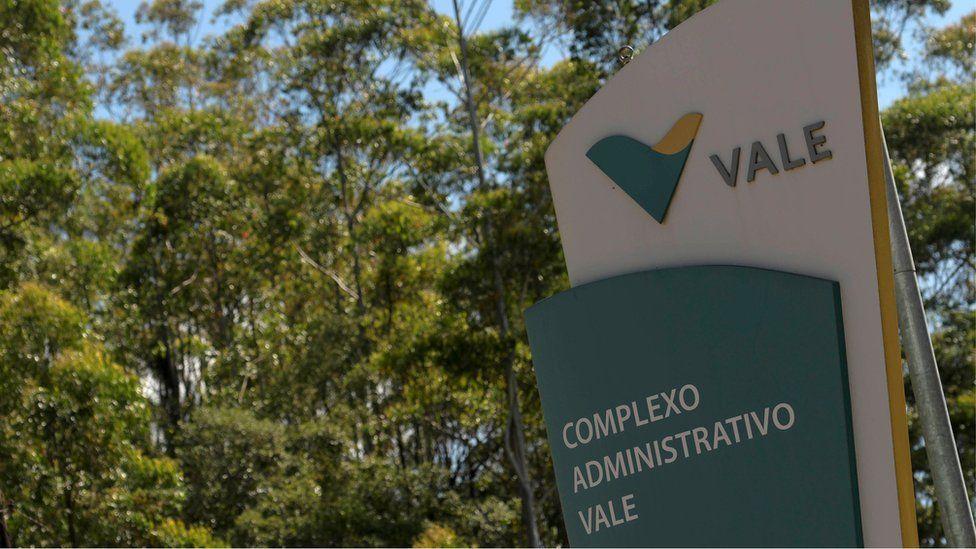 Vale logo at company HQ