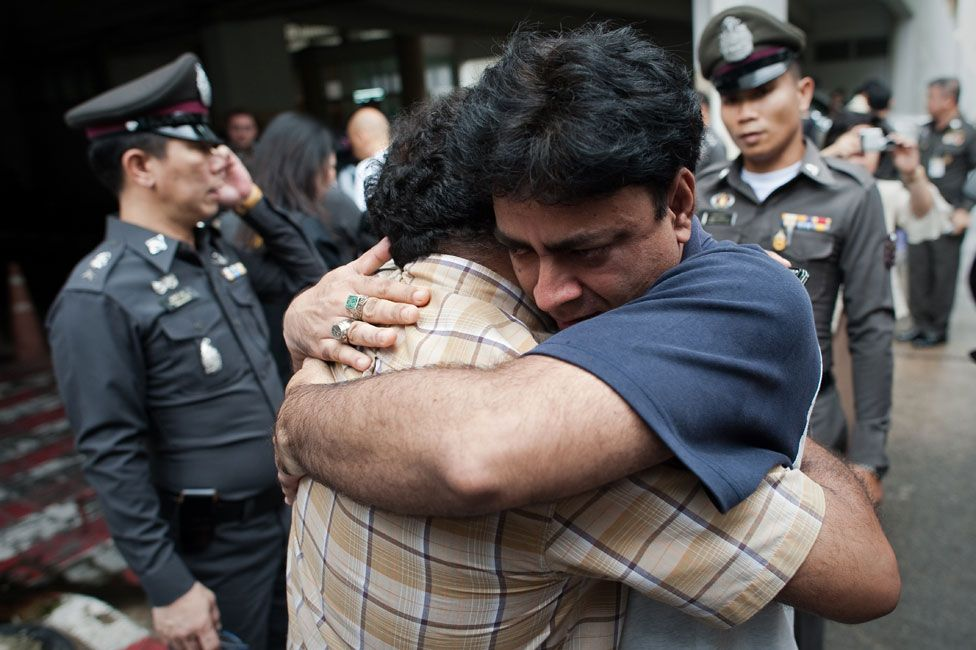 A Pakistani man arrested as an illegal immigrant is released on bail in 2011