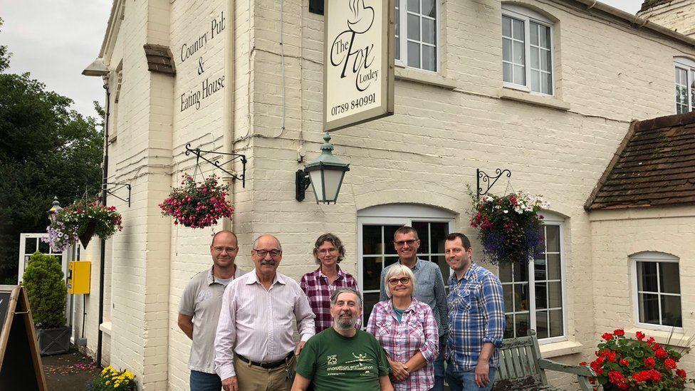 The Fox Inn in Loxley: Locals buy village pub