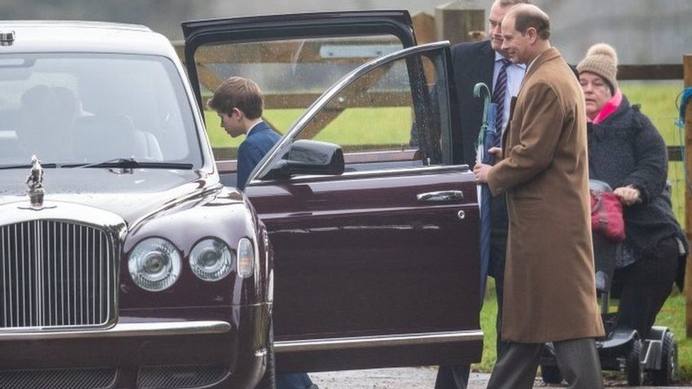 Prince Edward and Viscount Severn