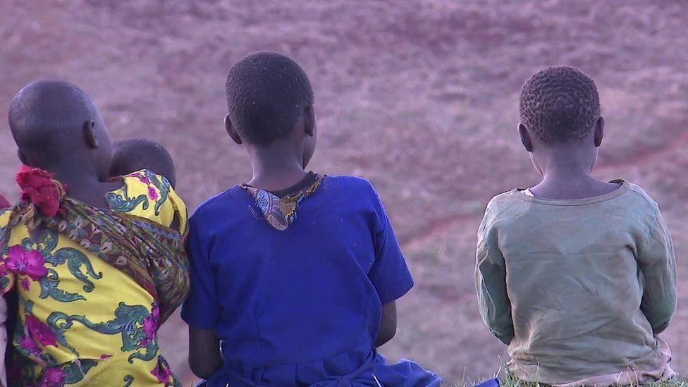 Children in Sebei, Uganda