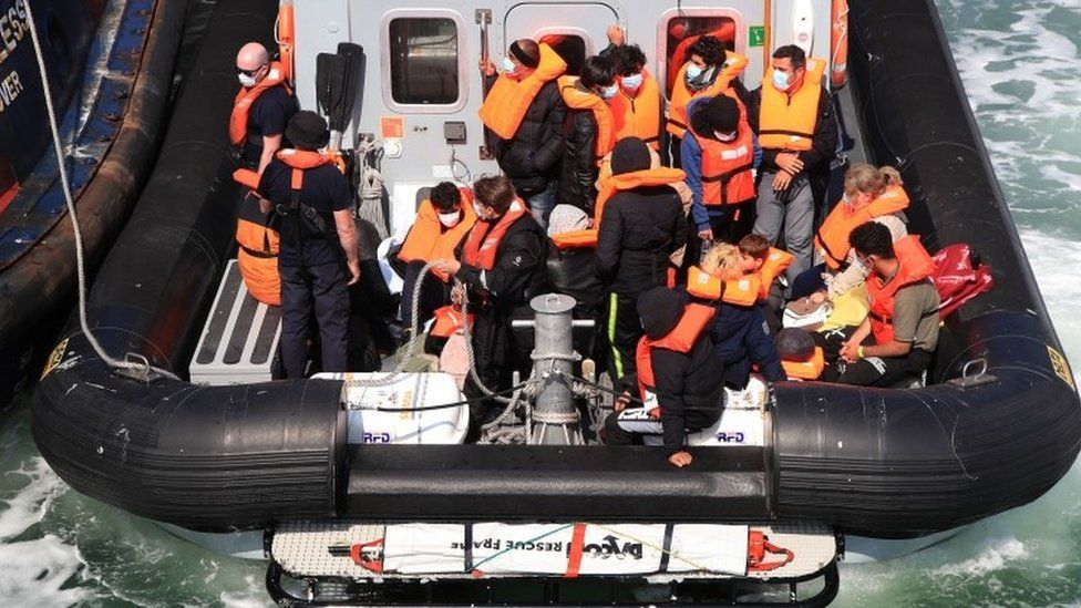 People thought to be migrants brought to Dover