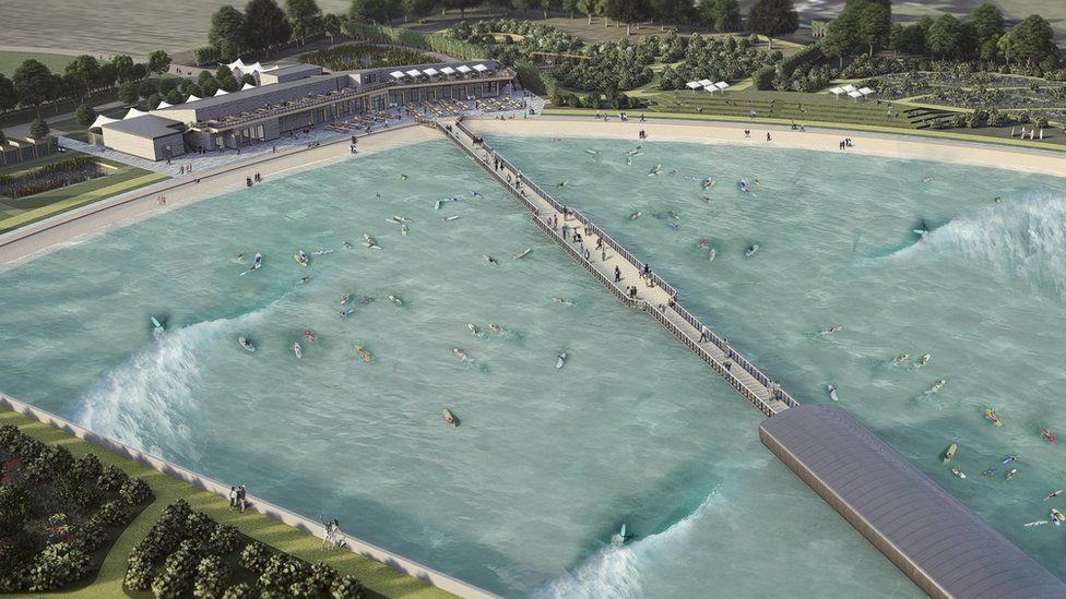 The Wave surfing lake gets alcohol licence despite noise concerns