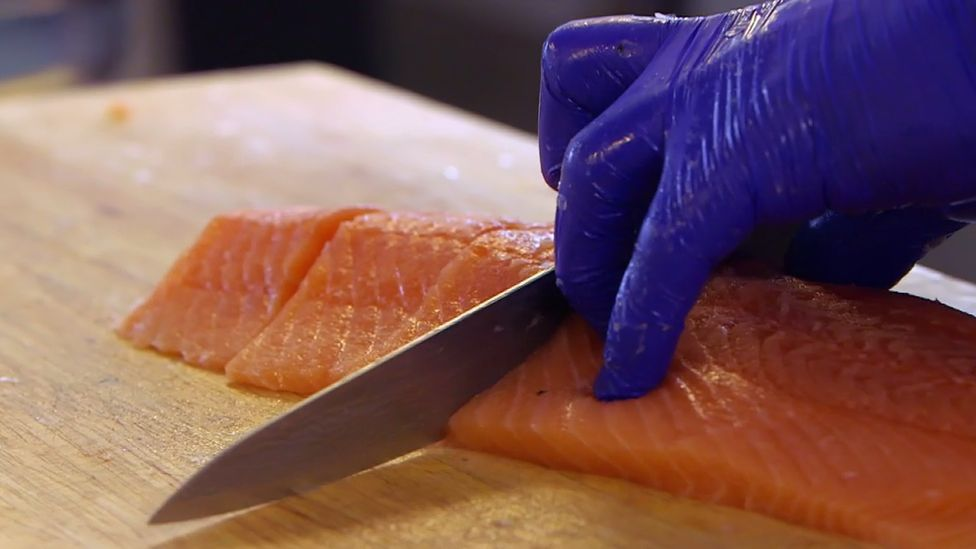 Farmed salmon has become one of the UK's biggest food exports
