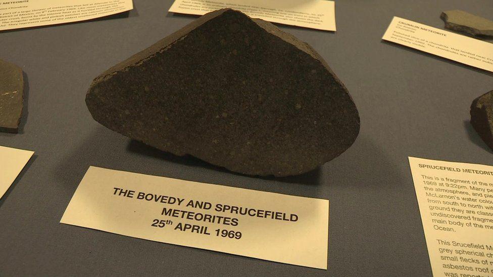 The Bovedy meteorite