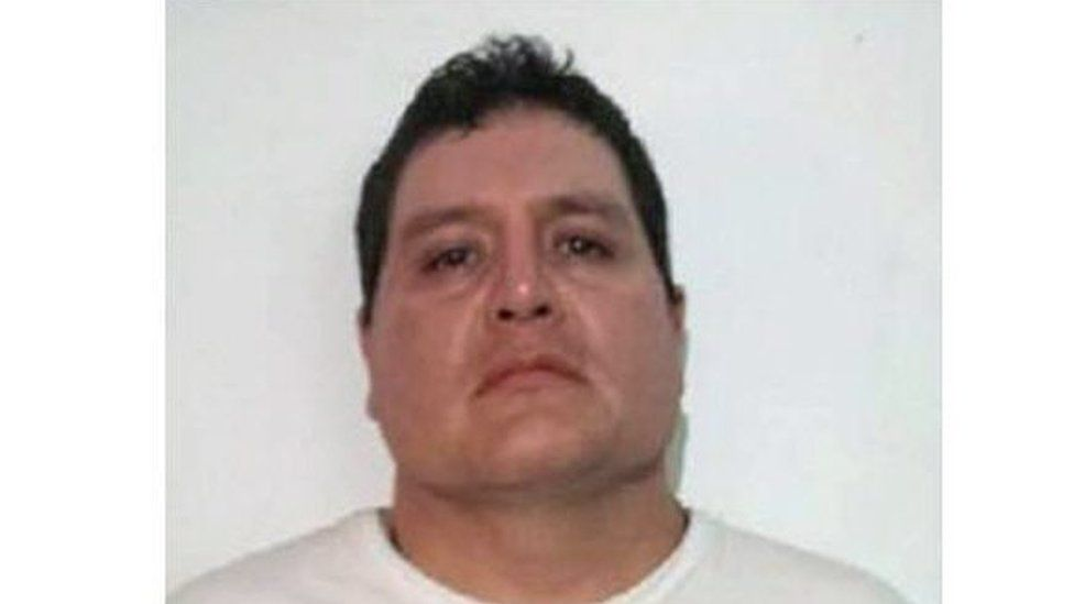 A handout picture provided by the National Commission of Security of Mexico shows Gildardo Lopez Astudillo, alleged member of the criminal organisation Guerreros Unidos.