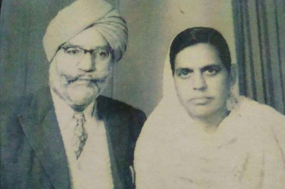 Bhagwan Singh Maini and Pritam Kaur