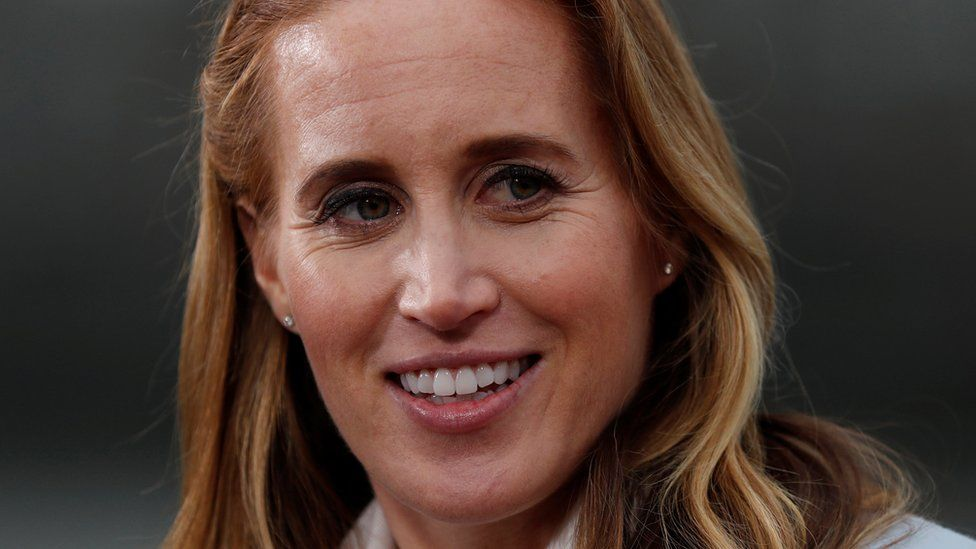 Olympic rower Helen Glover gives birth to twins
