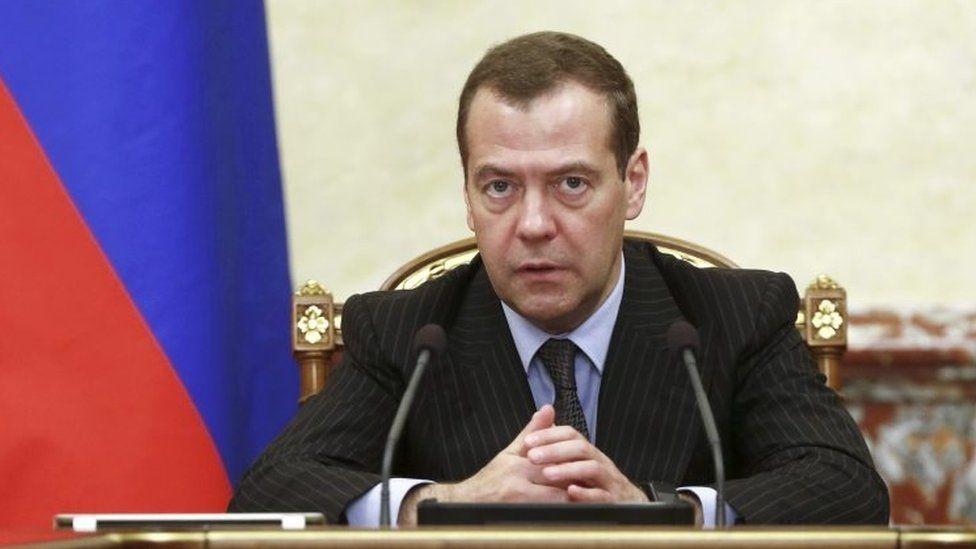Russian Prime Minister Dmitry Medvedev. Photo: June 2017