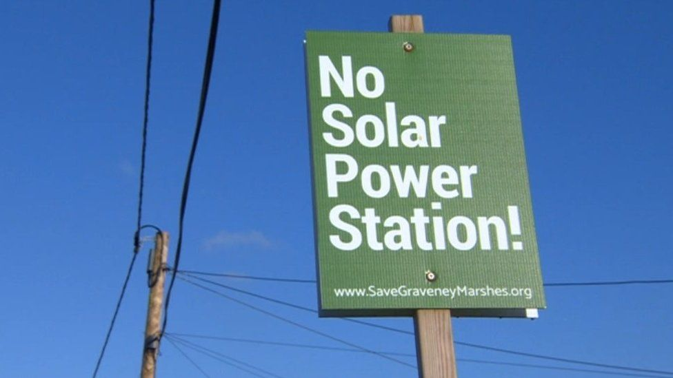 Campaign against solar farm in Graveney