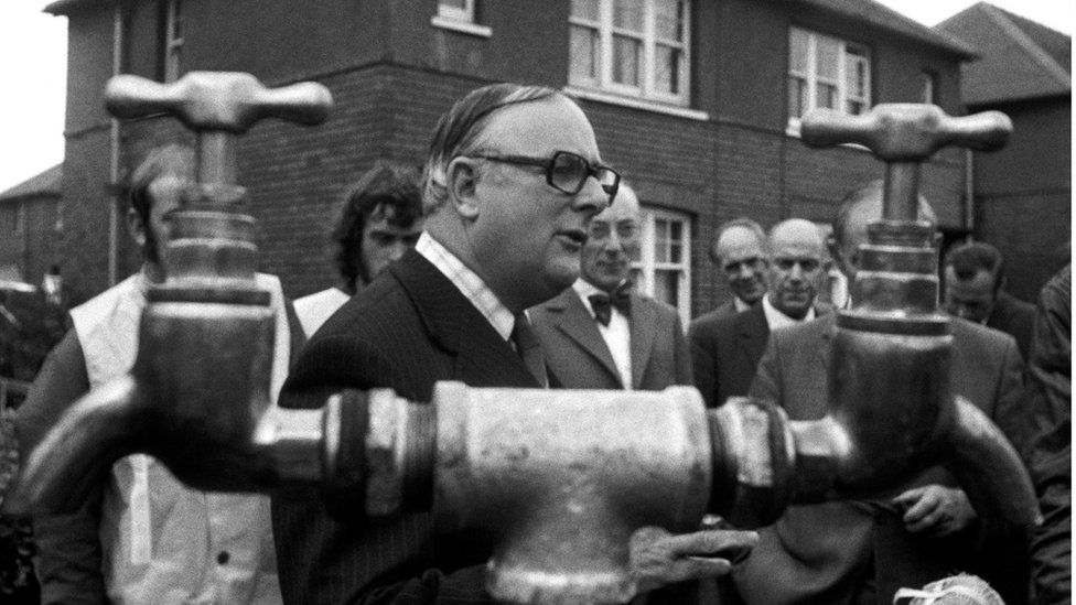 Denis Howell was drought minister in 1976 and later minister for snow
