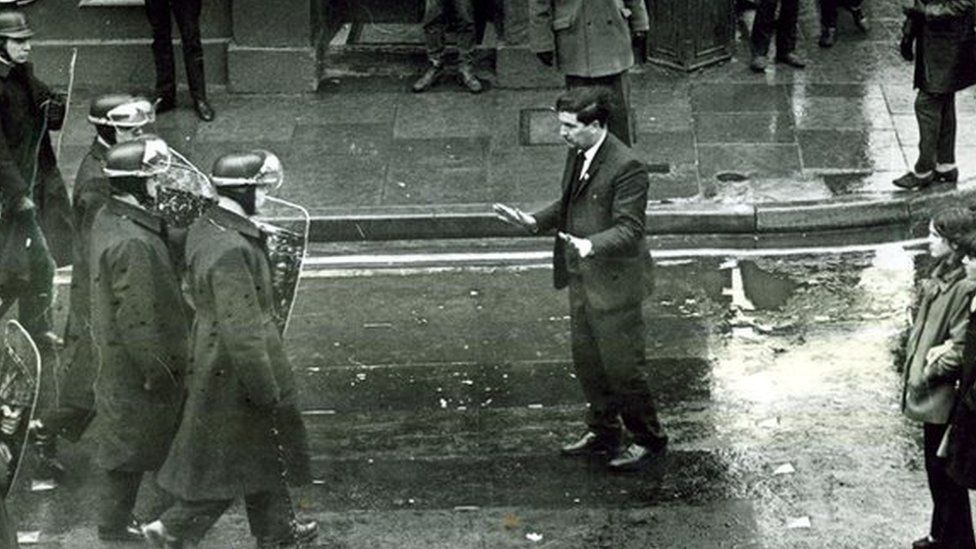 John Hume in Derry