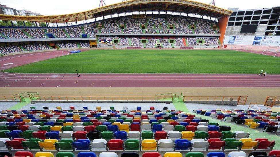 The Magalhaes Pessoa stadium (file pic)
