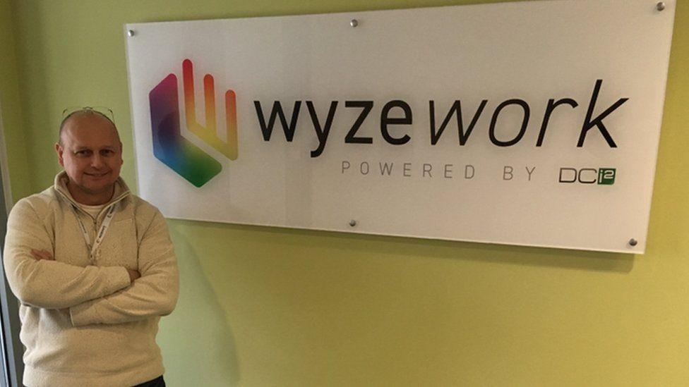 Wyzework's chief technical officer Chris Ward-Jones
