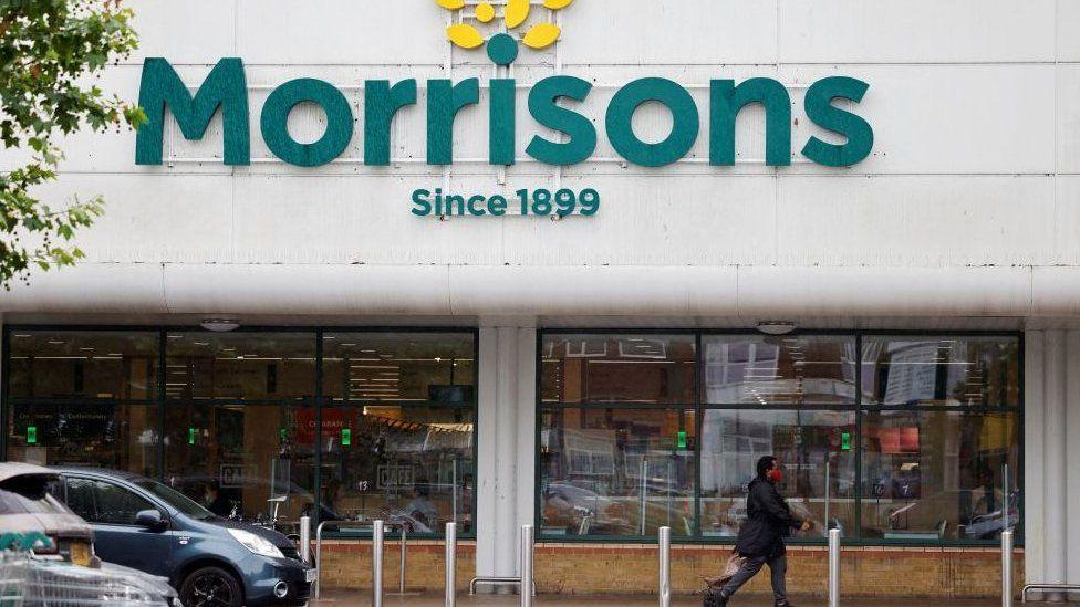 Morrisons shop front