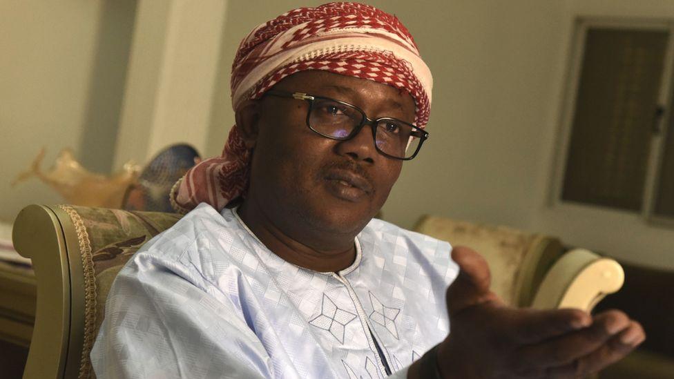 Guinea-Bissau's President Umaro Sissoco Embalo