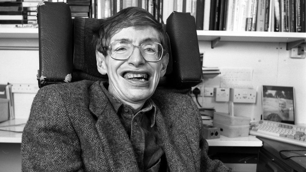 Professor Stephen Hawking on 'Desert Island Discs', 1992.