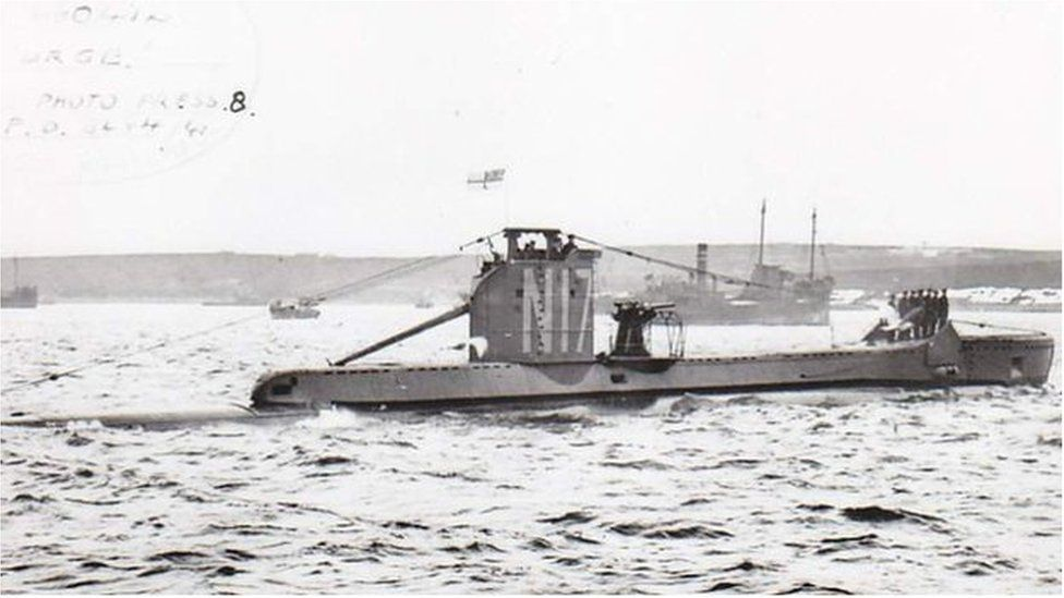 Bridgend submarine