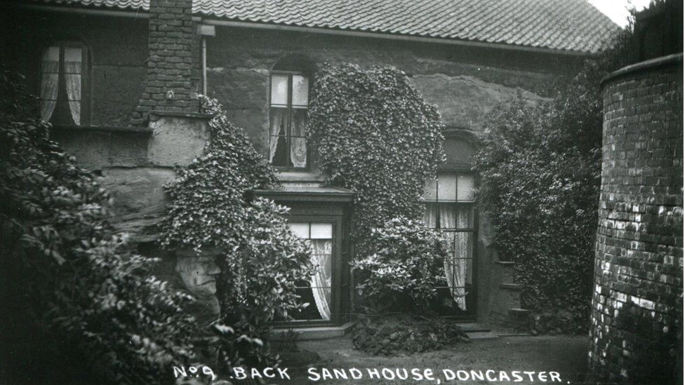 The back of Doncaster Sand House