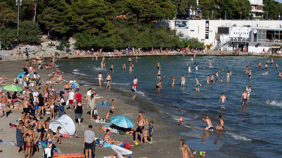 beach in croatia's split
