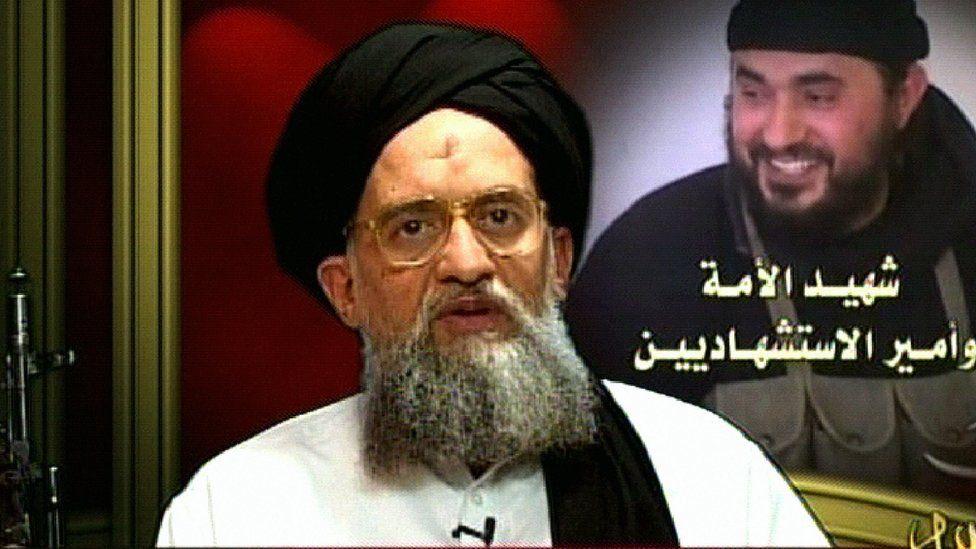 An image grab taken from Qatar-based Al-Jazeera television on 23 June 2006 showing al-Qaeda number two Ayman al-Zawahiri