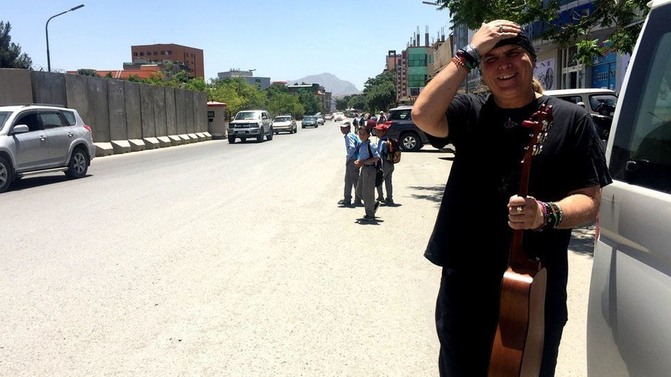 Lanny Cordola has swapped Los Angeles for Kabul to work on the project
