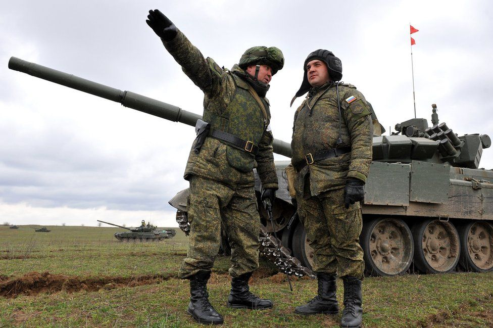 Russian military exercise, March 2015