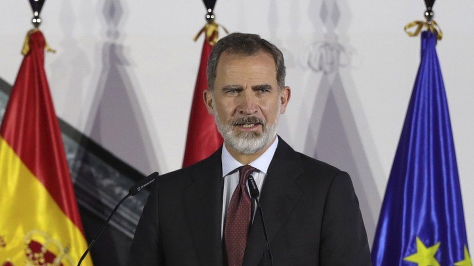 King Felipe (file photo)