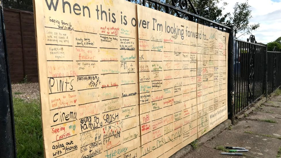 The hope wall