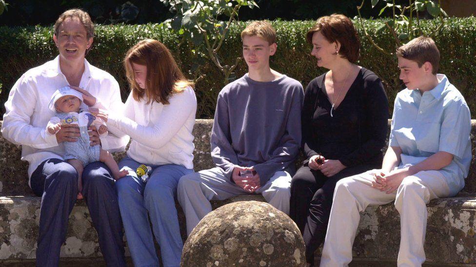 Leo Blair and the Blair family