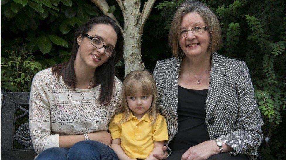Brenda, Helen and Lily Mae