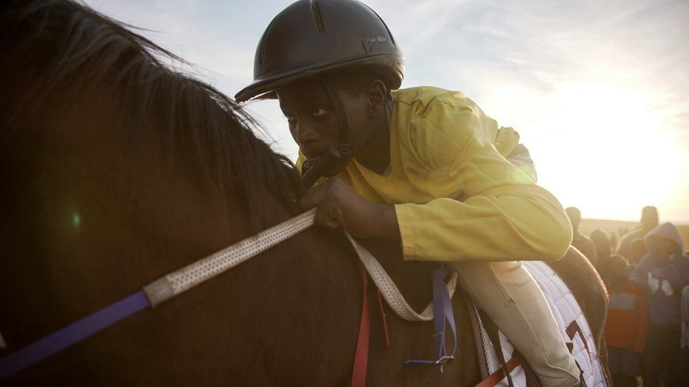 Traditional horse-racing in South Africa's Eastern Cape